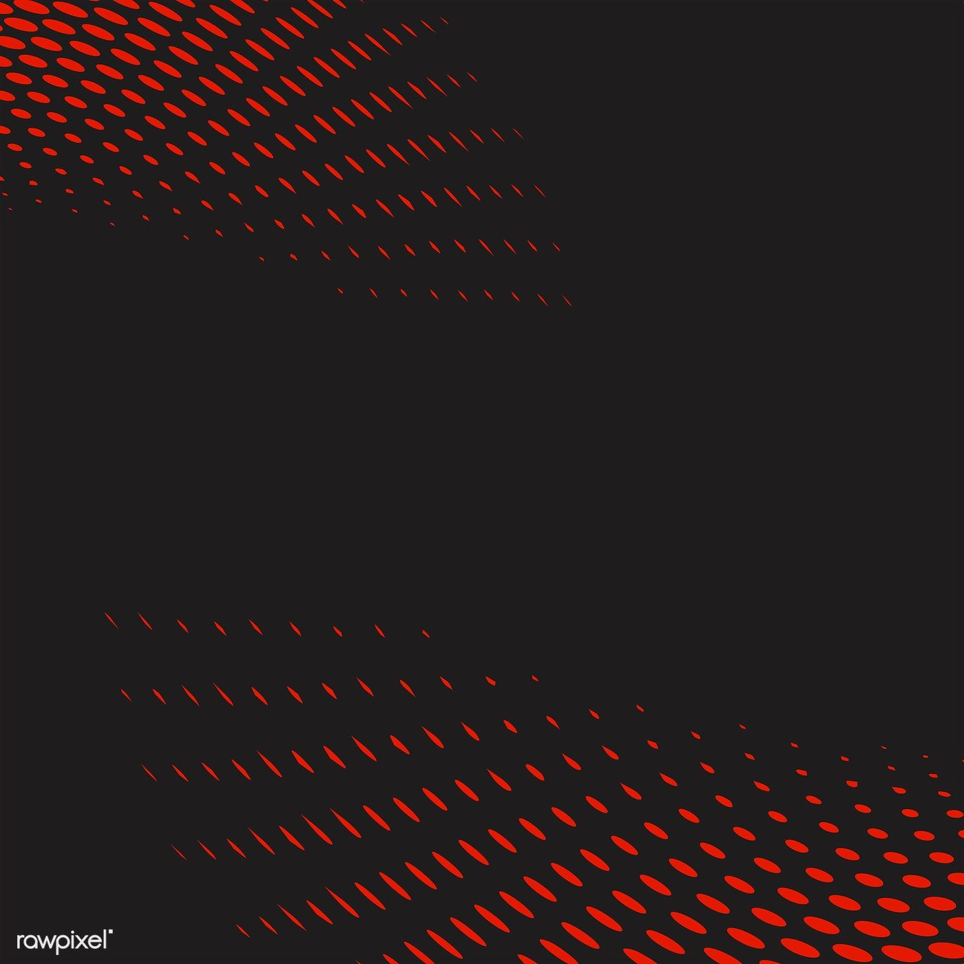 Red And Black Wavy Halftone Background Vector Free Image By Rawpixel Com Niwat Vector Free Halftone Wavy