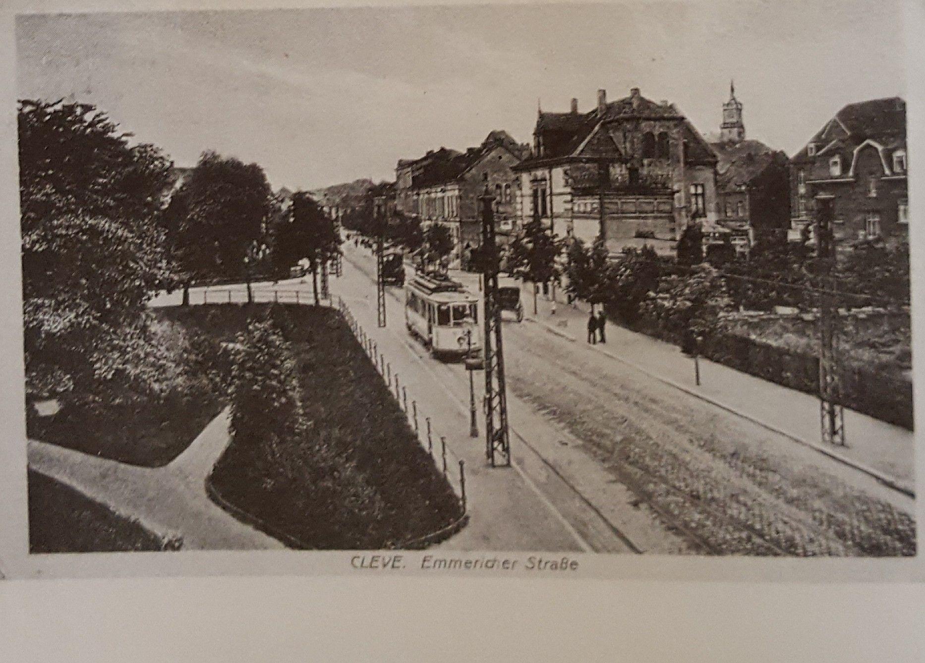 Kleve, Germany. Emmericher Straße um 1914