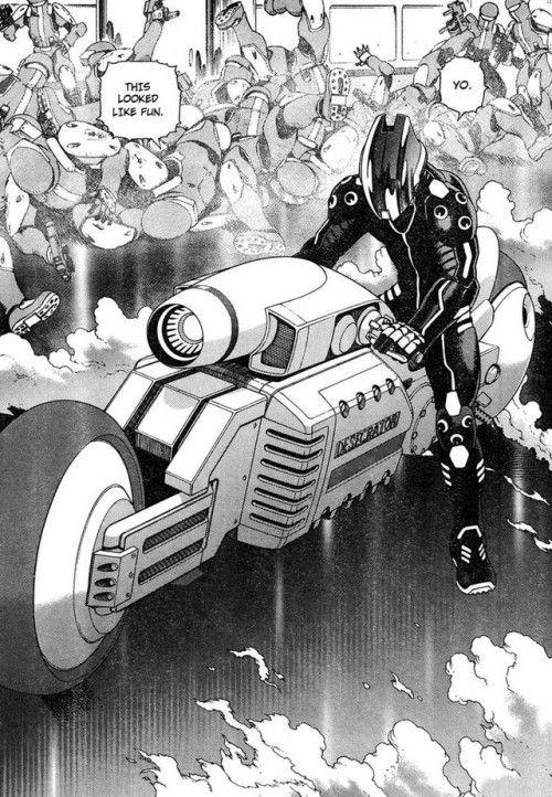 ONOSENDAI CYBERSPACE 7 Gunnm, Manga, Anime