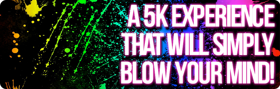 The Neon Run ~ Coming in March! All signed up and excited!!
