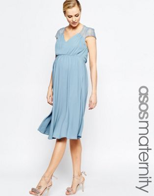ASOS Maternity Kate Lace Midi Dress | Wedding Wear for Family ...