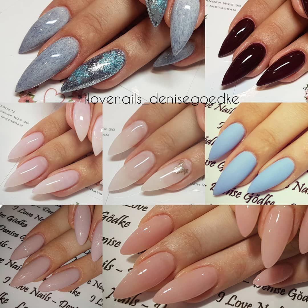 Collage ______ #nails #stiletto #nail #beauty #ilovenails ...