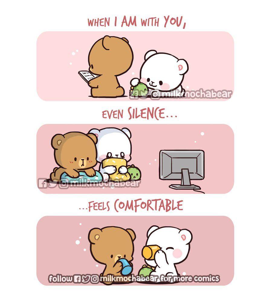 Milk Mocha On Cute Bear Drawings Cute Love Cartoons Cute