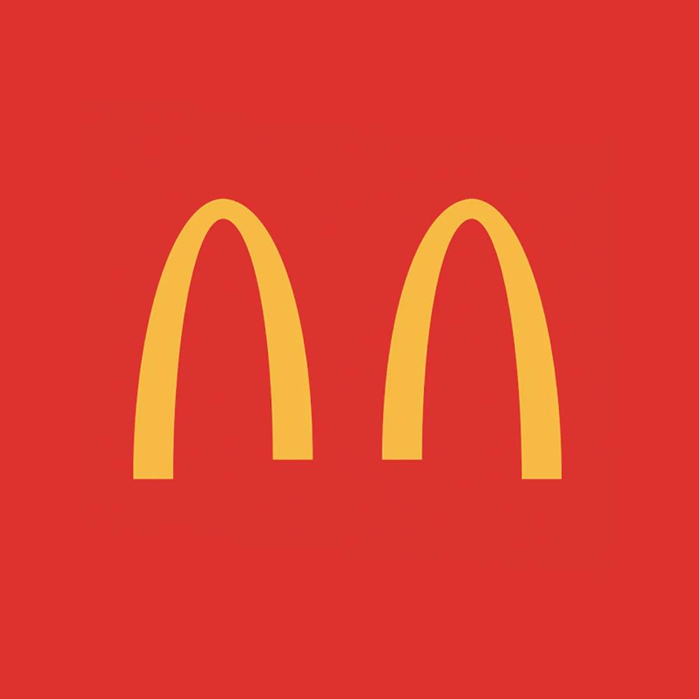 Au Brésil, McDonald's a séparé son logo en 2 arches pour