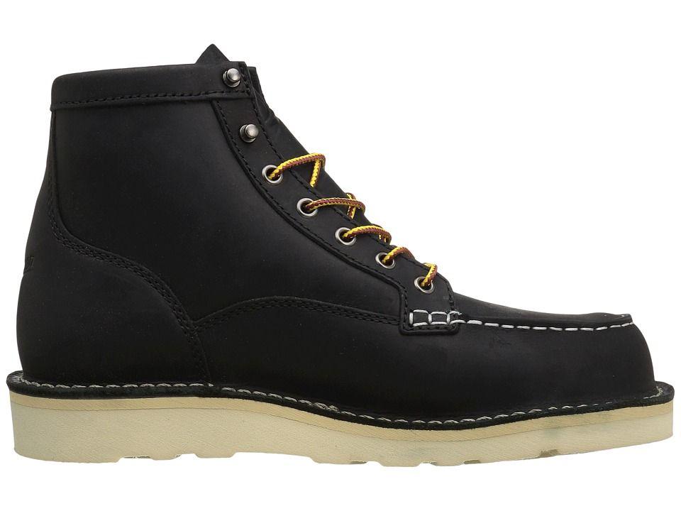 089ead3ba64 Danner Bull Run Moc Toe 6 Men's Work Boots Black | Products | Hiking ...