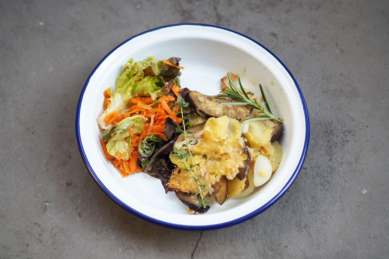 Luchbowl // Vegan Potatoe Gratin