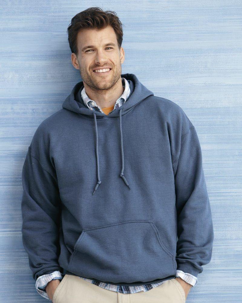 Royal Blue Gildan Plain Hooded Heavy Blend Sweatshirt Pullover mens hoodie