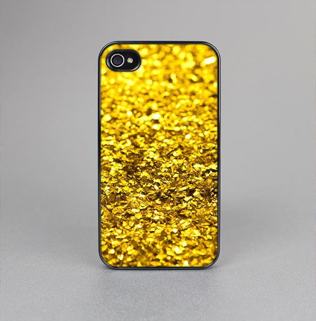 The Gold Glimmer Skin-Sert for the Apple iPhone 4-4s Skin-Sert Case
