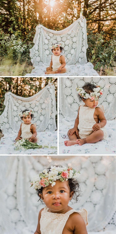 First Birthday Photo Session | Christina Freeman Photography  (@christinafreemanphotos) | O… | Birthday girl pictures, 1st birthday  photoshoot, Baby girl photography