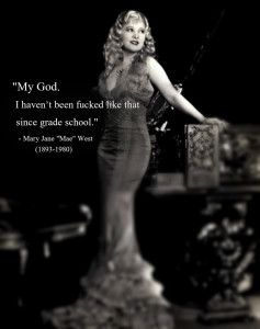 Mae-West http://bit.ly/1Uzkspz