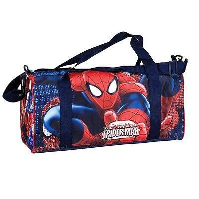 Spider-man duffel overnight bag kids boys #holdall weekend #sports ...