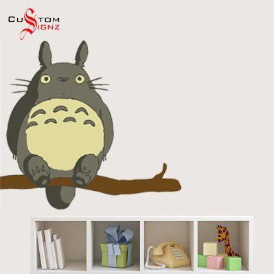 Studio Ghibli Totoro, My Neighbor Tortoro Wall Decal Sticker Vinyl Mural  Full Colour 700mm x