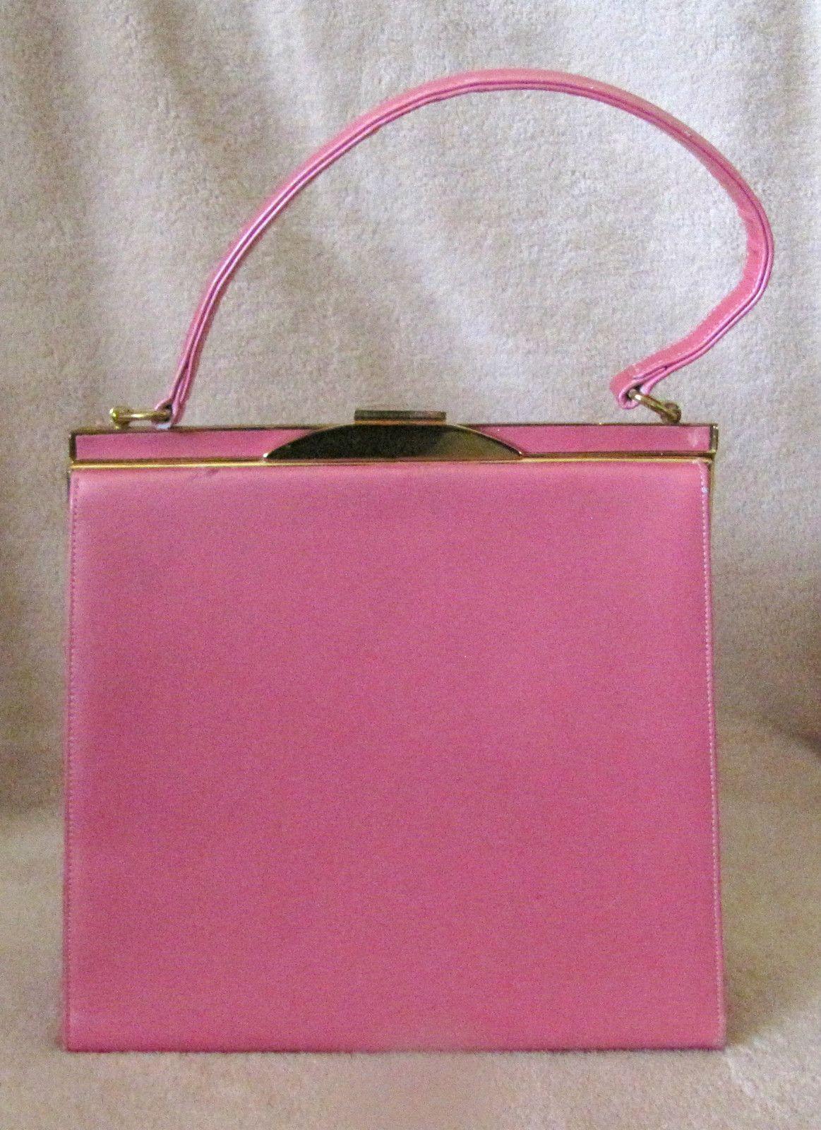6c768f76b Vintage 1950's Kelly PINK Purse   Vintage Purse Love   Purses ...