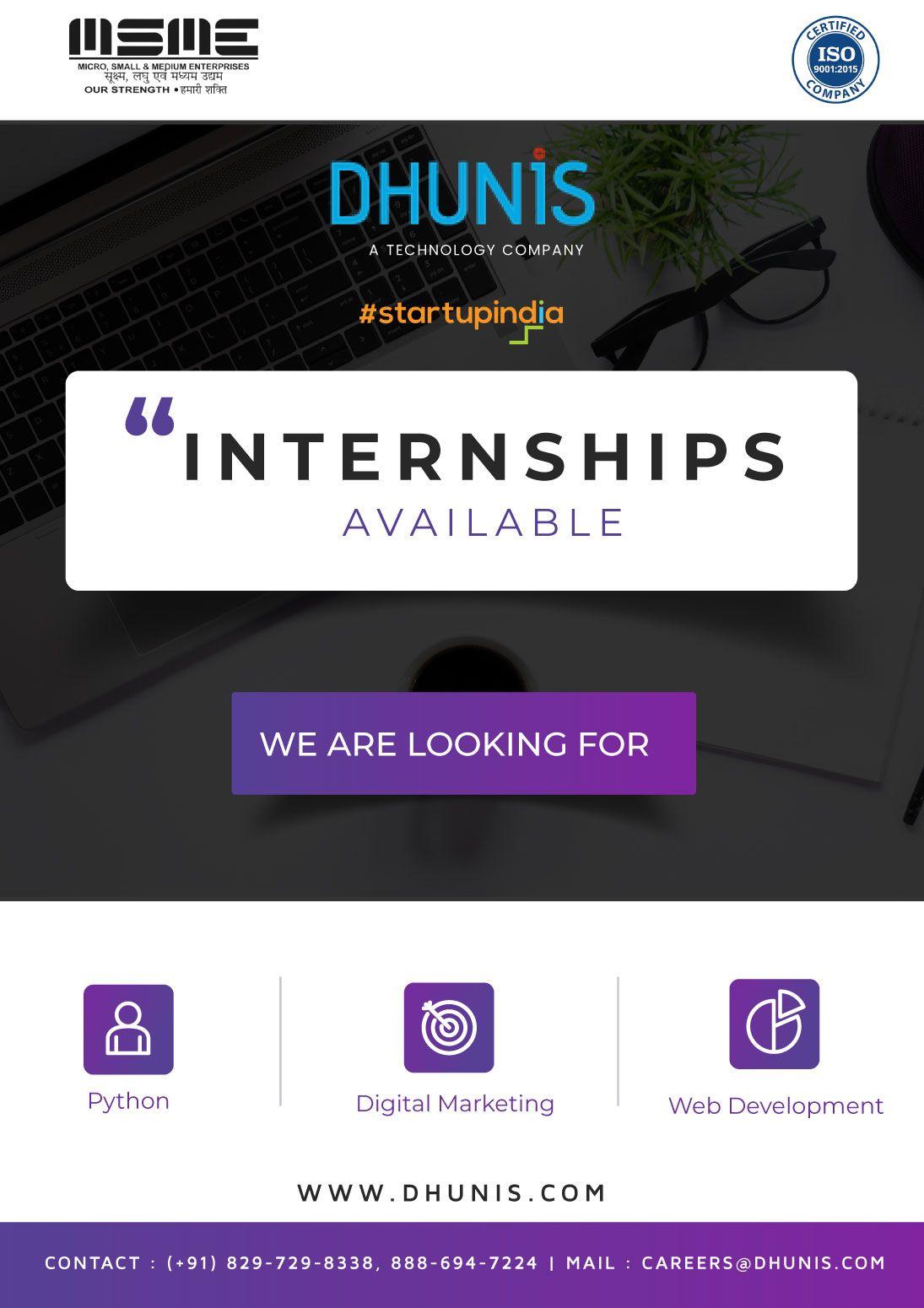 Internships Web marketing, Digital marketing, Internship