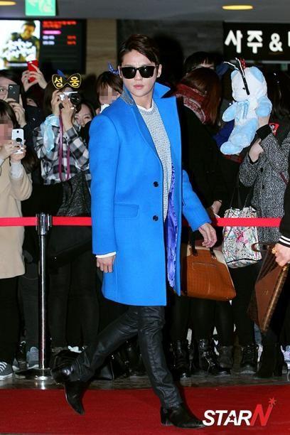 [Photo] JYJ's Kim Junsu at VIP Premiere of 'Dangerous Scandal'