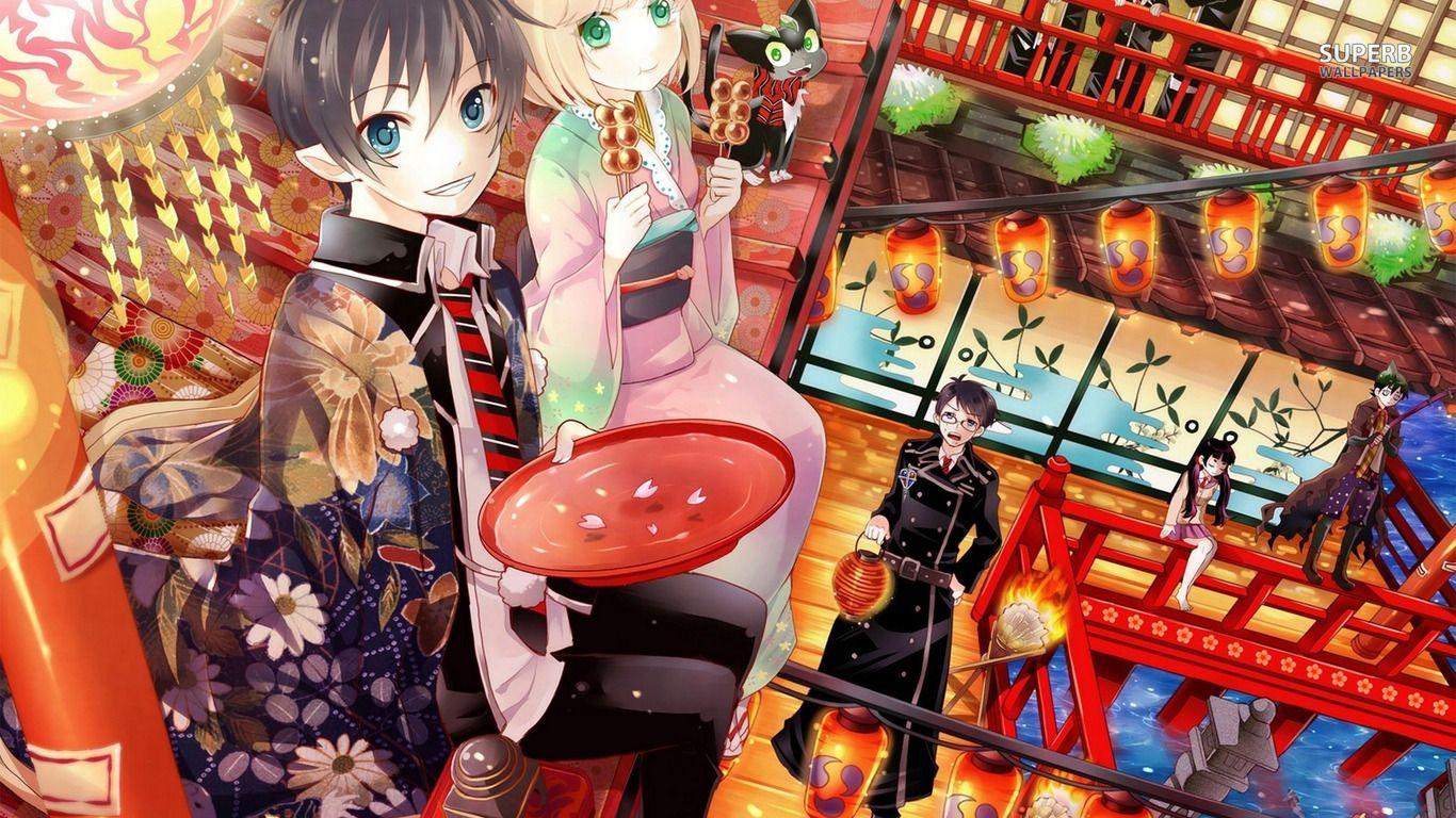 Ao No Exorcist Wallpaper Blue Exorcist Anime Anime Wallpaper Download Exorcist Anime Download wallpaper anime ao no