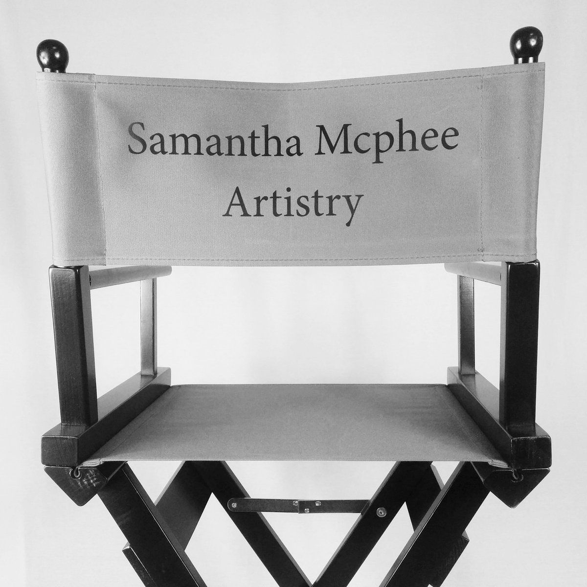 Delicieux Personalised Makeup Artists Chair. Personalise Online. Range Of Colours.