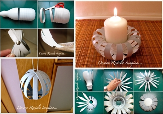 DIY Candle Decoration. See this tutorial here
