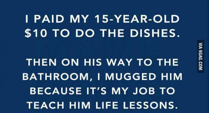 Good parenting - WTF