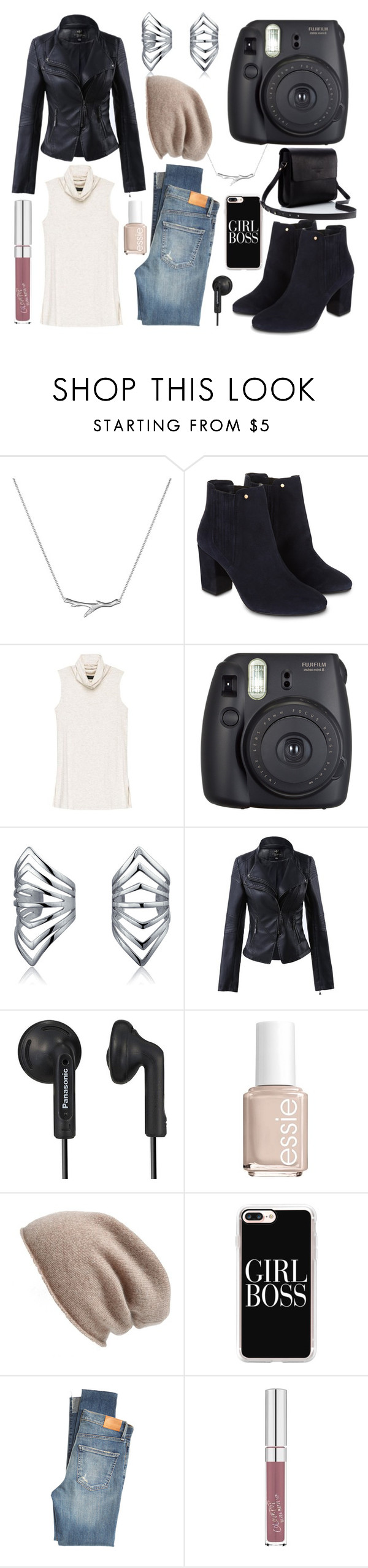 """""""New Year, New Changes!"""" by avenueg ❤ liked on Polyvore featuring Shaun Leane, Monsoon, Bobeau, Fuji, Bling Jewelry, Panasonic, Essie, Halogen, Casetify and Citizens of Humanity"""