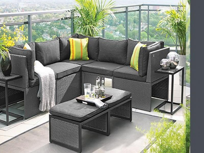 small space patio furniture sets. Balcony Height Patio Furniture Set - Modern Small Space Sets L