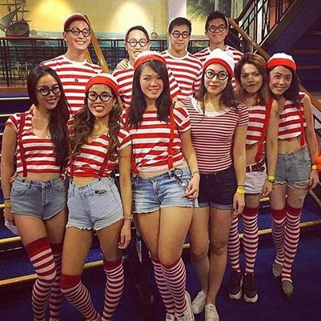 Halloween Group Costume Ideas 2018.Group Costume Ideas Work Themed Halloween Costumes Girl