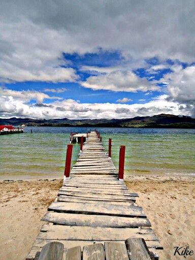 Muelle de la Laguna de Tota