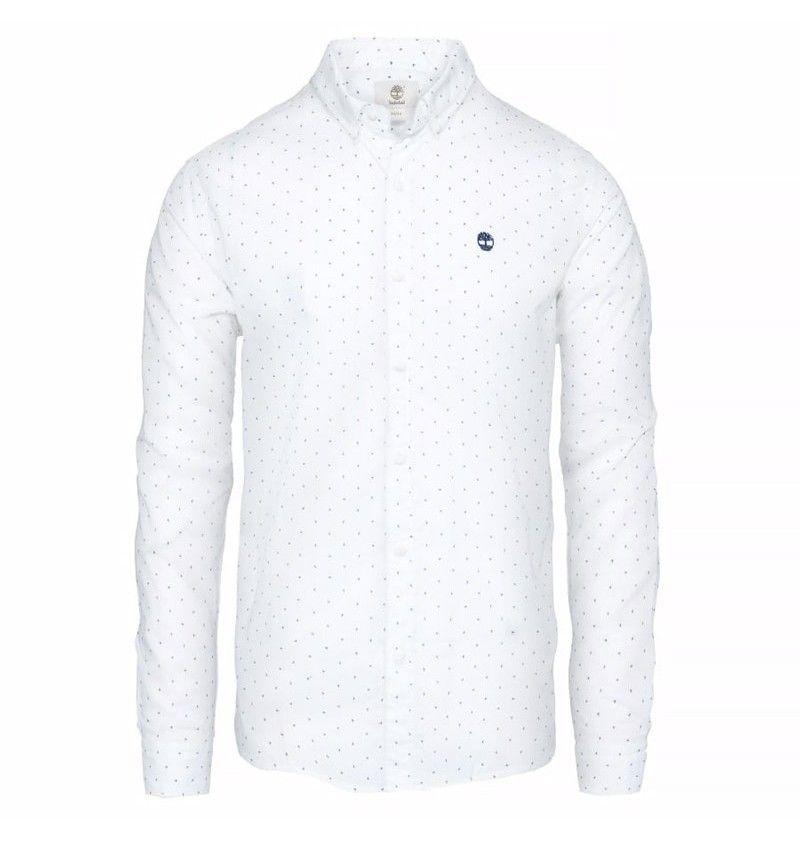 chemise timberland blanc