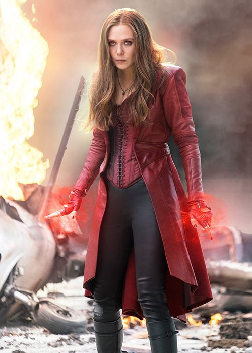 Watch Elizabeth Olsen School Us With Her Comic Book Knowledge Scarlet Witch Marvel Elizabeth Olsen Scarlet Witch Scarlet Witch