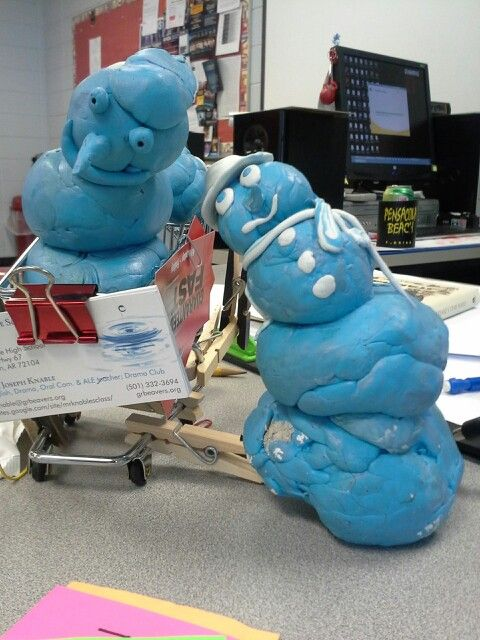 I had a lot of sticky tac. And some very creative students. Thanks for everything, Glen Rose!