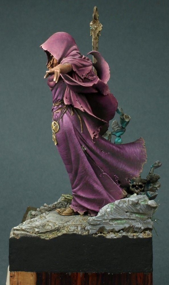Morgana, H&V Miniatures, 75mm | Miniatures | Fantasy miniatures