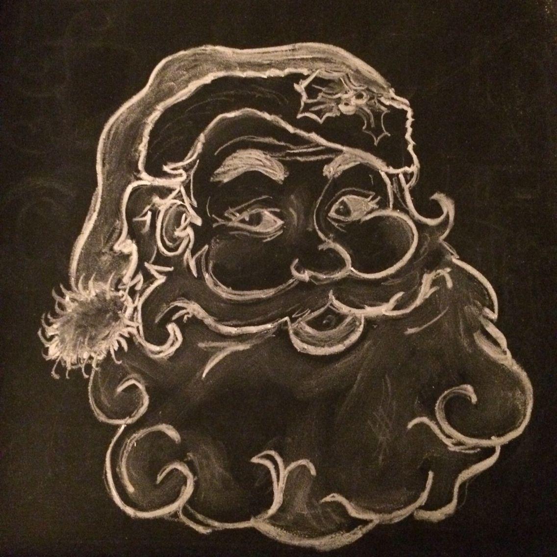 Blackboard Artwork Ideas: Brush Lettering/chalkboard Art
