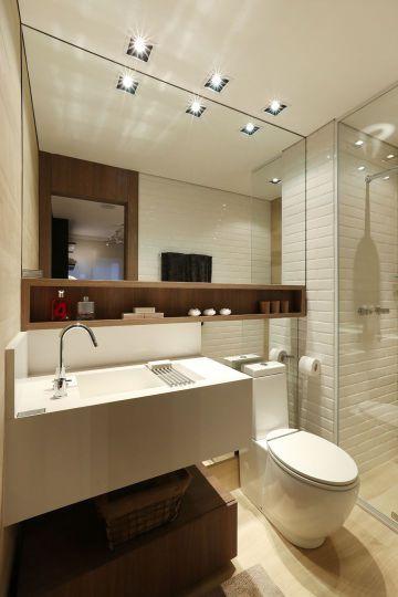 Bancadas no banheiro: 14 dicas de materiais e projetos para se inspirar