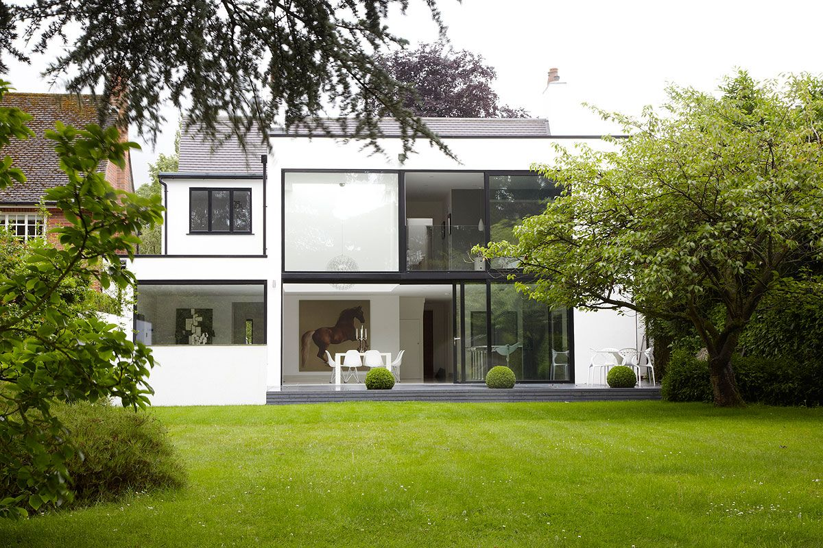 Penington Road, renovated 1920's house with modern extension