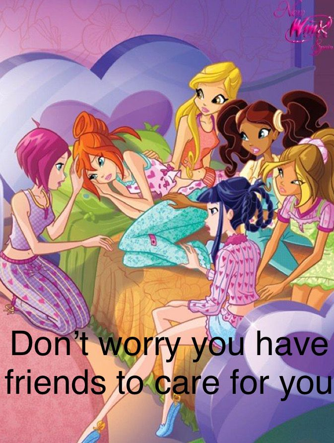 I Love The Winx This Photo Of The Winx Reminds Me That You Re Never Alone And People Care For You Winx Club Bloom Winx Club Club