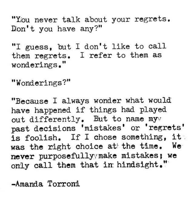 Pin By Jtaylor On Inspiring Words Regret Quotes Quotable Quotes Words