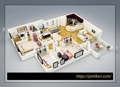40+ große und kleine Barndominium Grundrisse (mit Bildern