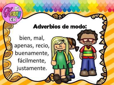 Tarjetas Para Trabajar Los Adverbios Adverbios Actividades Para Clase De Español Prefijos Y Sufijos