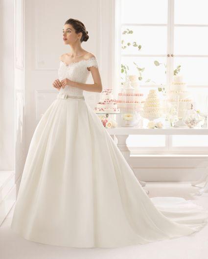 vestidos de novia pensados para las chicas de mucho busto: te vas a