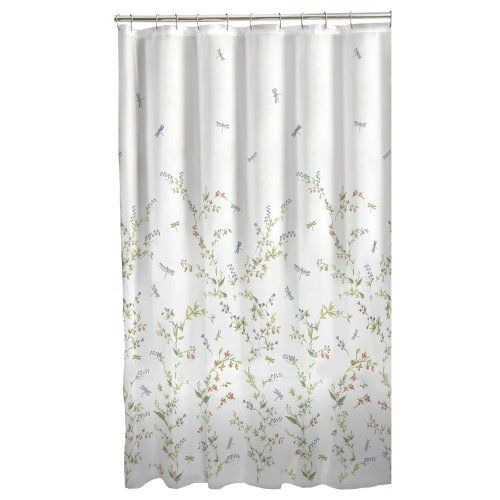 Maytex Dragonfly Garden Fabric Shower Curtain Maytex Http Www Amazon Com Dp B00g9qyoo2 Ref Cm Sw R Pi Dp Fabric Shower Curtains Shower Curtain Bathroom Decor