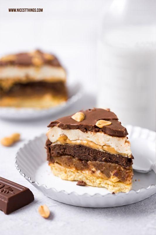 Protein Torte Ohne Mehl Mit Kichererbsen Erdnussen Karamell
