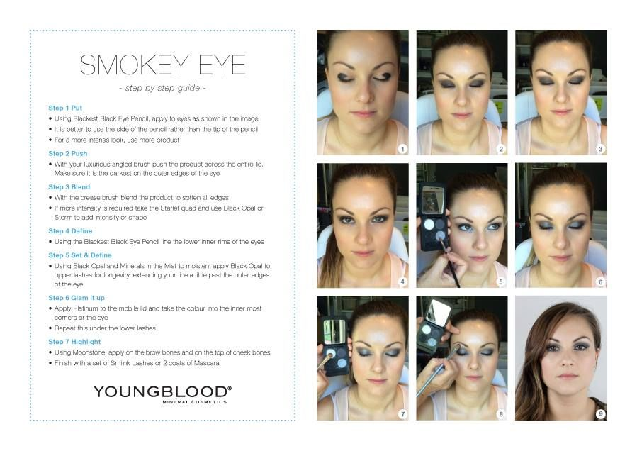How to get Smokey Eyes! | via Youngblood Mineral Cosmetics AU