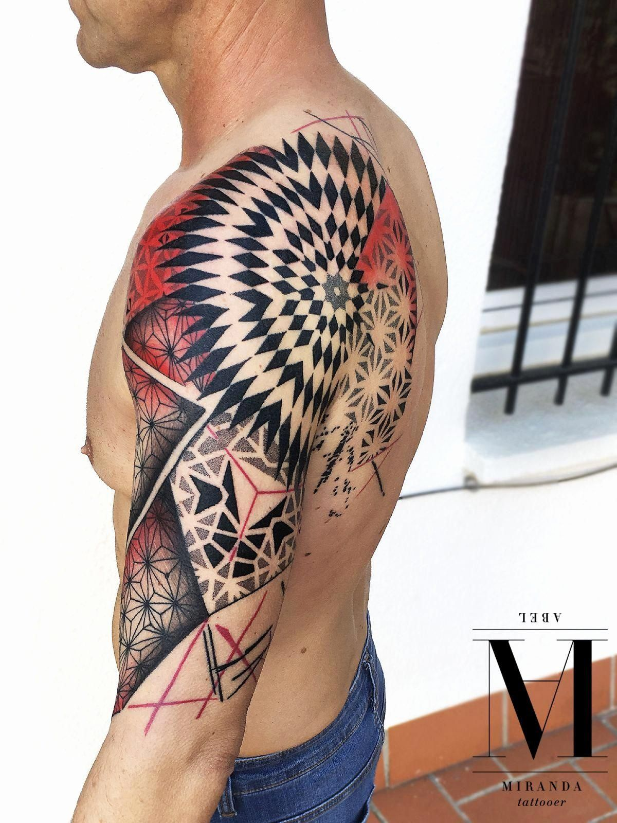 Tattoo Website Design Inspirational Tattoos Tattoo Tribal 3d Design Enchanting Geometric In 2020 Geometric Tattoo Tattoos Trash Polka