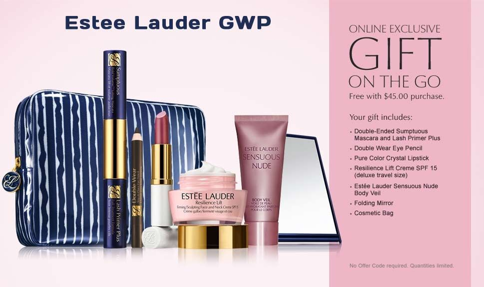 If you also like Estee Lauder - they have GWP on their website ...