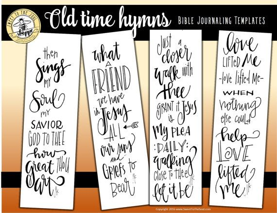 Soul Inspired  Bible Journaling Template / by SweetToTheSoulShoppe