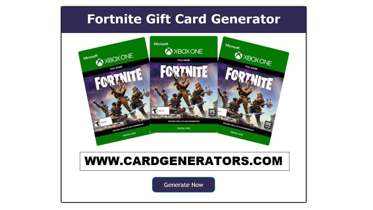 Fortnite gift card generator free vbucks gift card