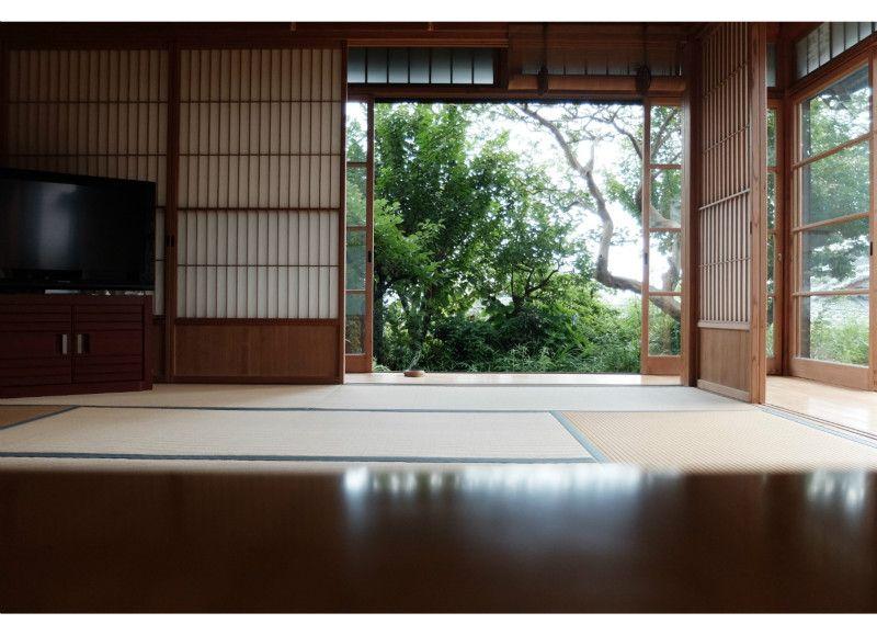 和室 縁側 一軒家 Fululu和風スタジオ熱海来宮 熱海の家 和室