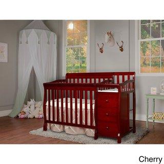Dream On Me Jayden 4 In 1 Mini Crib N A Black Mini Crib Cribs Convertible Toddler Bed