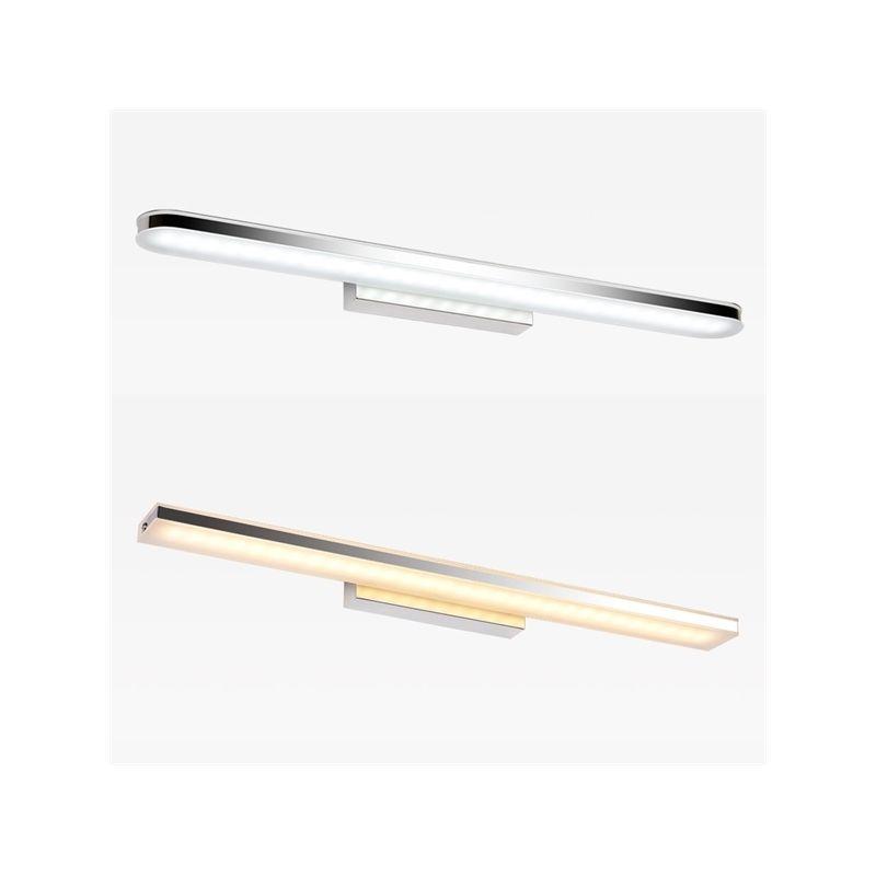 Kaufen (EU Lager)LED Spiegelleuchte Wandleuchte Modern Chrom mit - badezimmer spiegelleuchten led