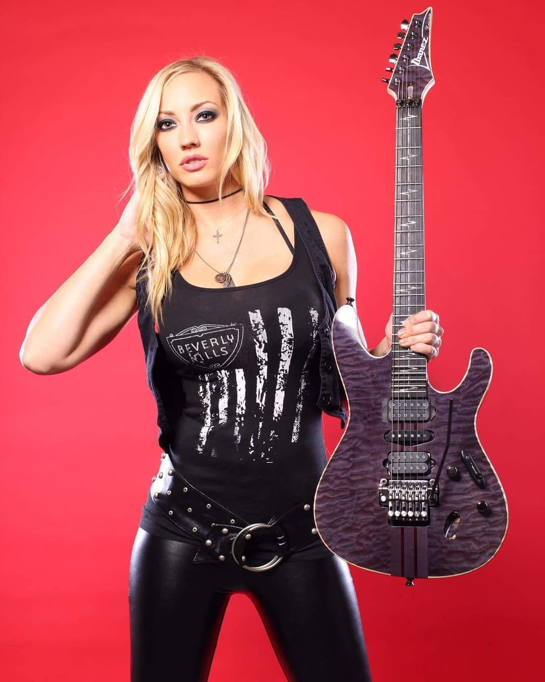 Nita Strauss Nita Strauss Heavy Metal Girl Women In Music